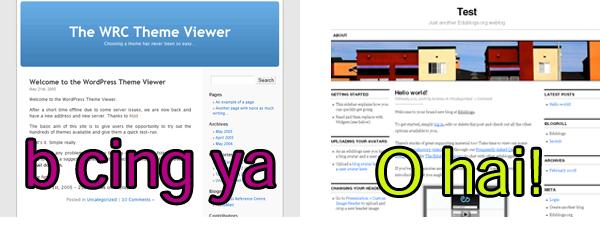 New default Edublogs theme