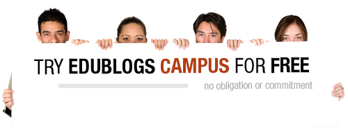 Try Edublogs Campus for Free