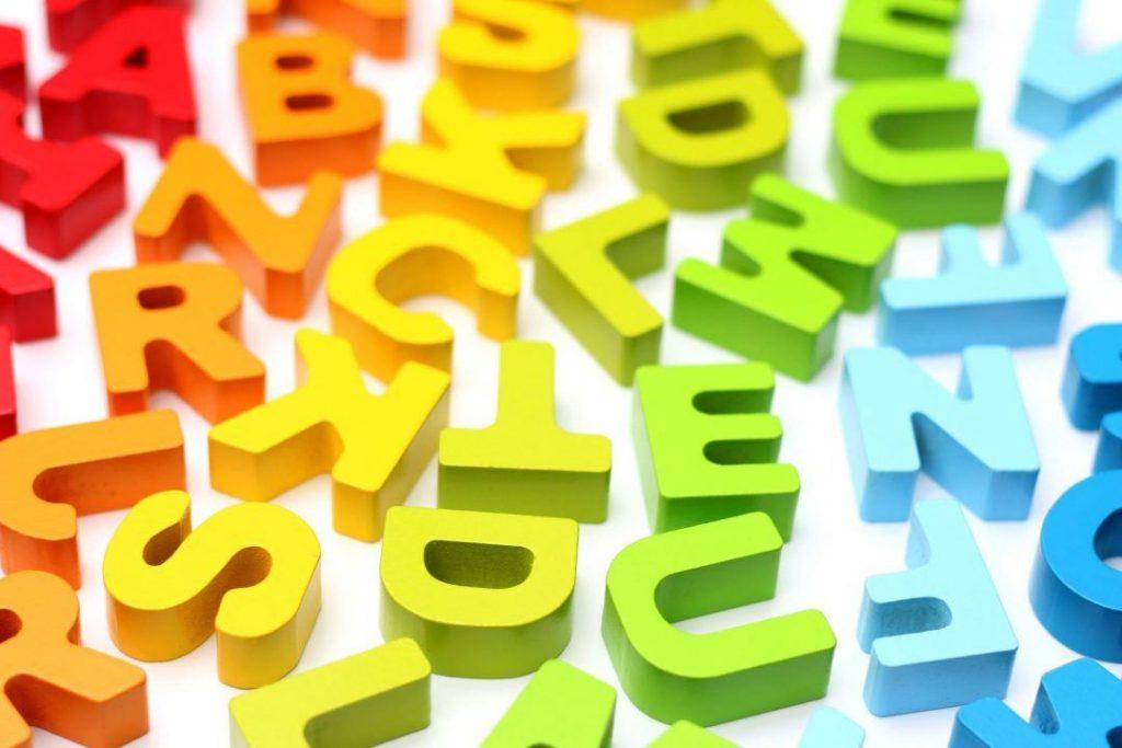 Colorful alphabet tiles | 100 Word Challenge Julia Skinner | Edublogs